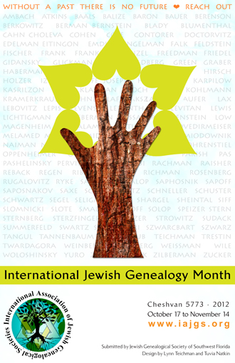 International Association of Jewish Genealogical Societies Conferences
